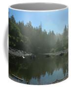 Mist Over Ruby Beach Coffee Mug