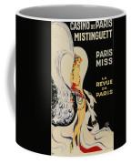 Mistanguette At The Casino De Paris Coffee Mug