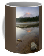 Misty Alpenglow Coffee Mug