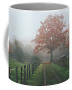 Misty Autumn Morning Coffee Mug