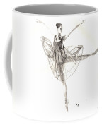 Misty Ballerina Dancer IIi Coffee Mug