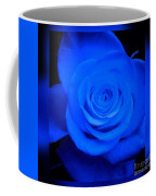 Misty Blue Rose Coffee Mug