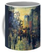 Misty Effect Paris Coffee Mug