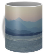 Misty Hills On The Strait Coffee Mug