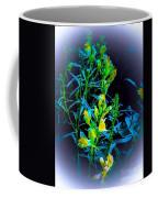 Misty Look Wild Flowers Coffee Mug