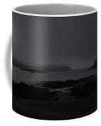 Misty Moonlight On Wallace Cove Coffee Mug