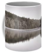 Misty Morning On Slipper Lake Coffee Mug