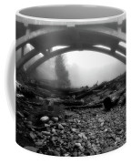 Misty Morning In Black And White Coffee Mug