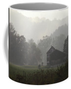 Misty Morning In Vermont Coffee Mug