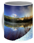 Misty Morning Lake Coffee Mug