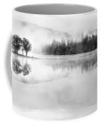 Misty Morning At Loch Ard Coffee Mug