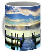 Misty Morning On Rock Creek Coffee Mug