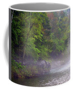 Misty Morning On The Buffalo Coffee Mug