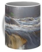 Misty Morning On The River Coffee Mug
