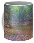 Misty Morning Woodscape Two Coffee Mug