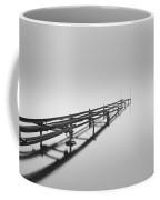 Misty Pier Loch Lomond Coffee Mug
