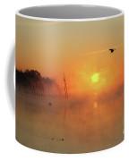 Misty Rise Fly Bye Coffee Mug