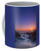 Misty Rock Sunrise Coffee Mug