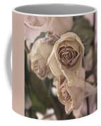Misty Rose Tinted Dried Roses Coffee Mug