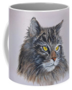Mitze Maine Coon Cat Coffee Mug