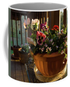Mixed Basket, Balcony Garden, Hunter Hill, Hagerstown, Maryland, Coffee Mug