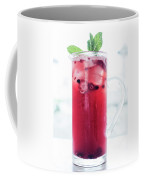 Mixed Red Berries And Wine Sangria Cocktail Jug Coffee Mug