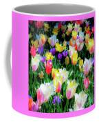Mixed Tulips In Bloom  Coffee Mug