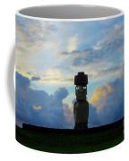 Moai Easter Island Rapa Nui Coffee Mug
