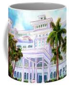 Moana Surfrider Hotel On Waikiki Beach #206 Coffee Mug