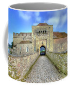 Moat House Leeds Castle Coffee Mug by Chris Thaxter