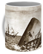 Moby Dick Both Jaws, Like Enormous Shears Bit The Craft Complete In Half Coffee Mug