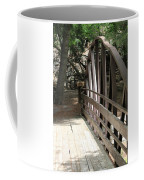Mocha Colored Walking Bridge In American Fork Canyon Utah Coffee Mug