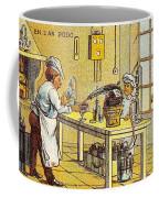 Model Kitchen, 1900s French Postcard Coffee Mug