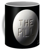 Model Of Contraceptive Pill, C.1970 Coffee Mug
