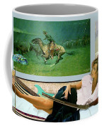 Modeling, Frederick Remingtons, Stampede By Lightning, Advanced Guard Coffee Mug