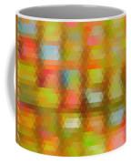 Modern Abstract Mosaic Color Combination 4 Coffee Mug