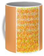 Modern Abstract Pointilist Color Combination 1 Coffee Mug