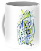 Modern Drawing Forty Coffee Mug