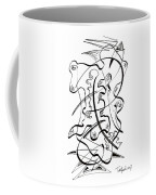 Modern Drawing Forty-seven Coffee Mug