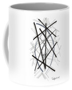 Modern Drawing Forty-six Coffee Mug