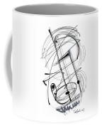 Modern Drawing Thirty-eight Coffee Mug