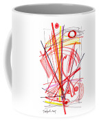 Modern Drawing Thirty-nine Coffee Mug