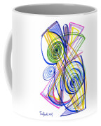 Modern Drawing Thirty-seven Coffee Mug