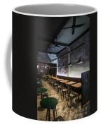 Modern Industrial Contemporary Interior Design Restaurant Coffee Mug