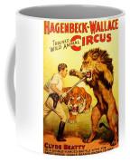 Modern Vintage Circus Poster Coffee Mug