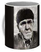 Moe Howard, Vintage Entertainer Coffee Mug