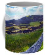 Moel Famau Hill Painting Coffee Mug