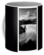 Moel Siabod Viewed From Llyn Glangors Lake Snowdonia Coffee Mug