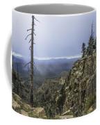 Mogollon Rim Under The Clouds Coffee Mug