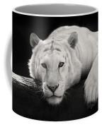 Mohan The White Tiger Coffee Mug